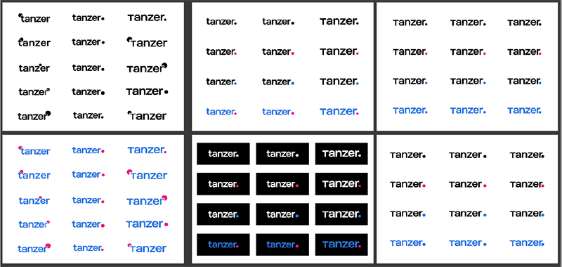 TANZER Agency - Rebranding