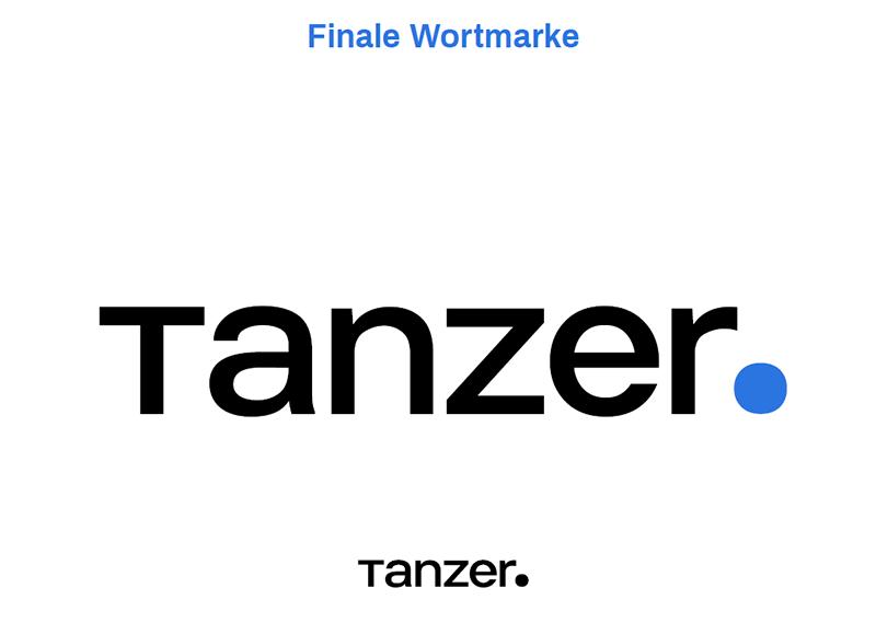 TANZER Agency - Finale Wortmarke Rebranding