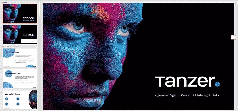 TANZER Agency - Tanzer power point