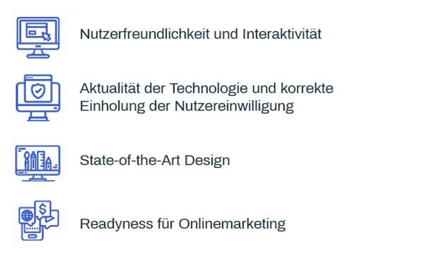TANZER Agency - 4 Kriterien der Website Analyse