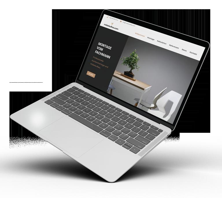 TANZER Agency - Webdesign - Portfolio möbelaufbau.com
